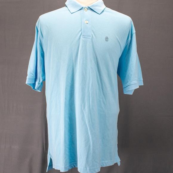 312eb93b Izod Shirts | Golf Heritage Polo Shirt Sz Xl Light Blue | Poshmark